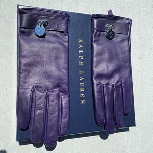 Ralph Lauren women's leather gloves